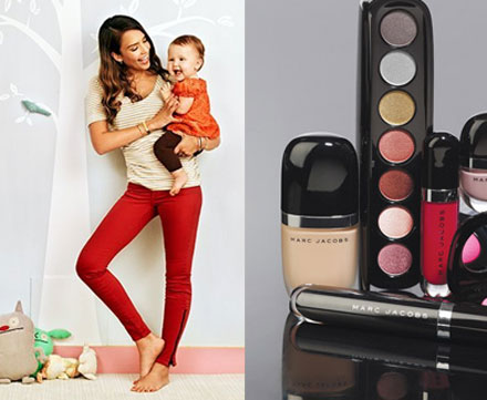 Jessica Alba's home tour and Marc Jacobs makeup at Sephora