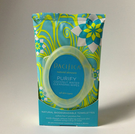 Pacifica Coconut Cleansing Wipes Review