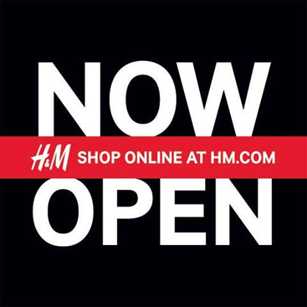 HM launches online shipping!