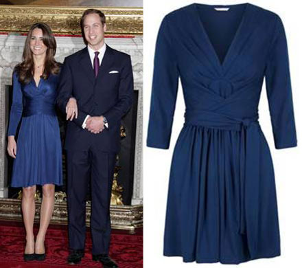 Kate Middleton's Issa London Wrap Dress Is Coming To Banana ...