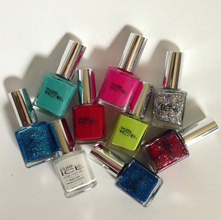 Win Pure Ice nail polishes for summer from TheBudgetBabe.com.