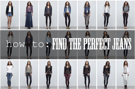 A guide to finding the perfect jeans