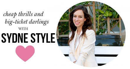 Sydne Style talks about when to splurge and when to save