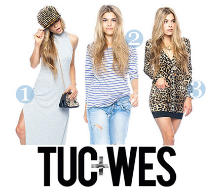 Tuc + Wes exclusive 25% off coupon code