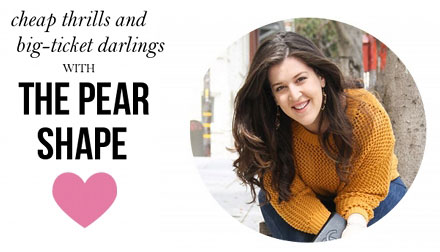 We chat with Lauren from The Pear Shape about her biggest fashion splurges, best bargains and fall must-haves!