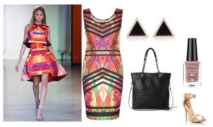 Runway to Real Way: Peter Pilotto Spring 2014