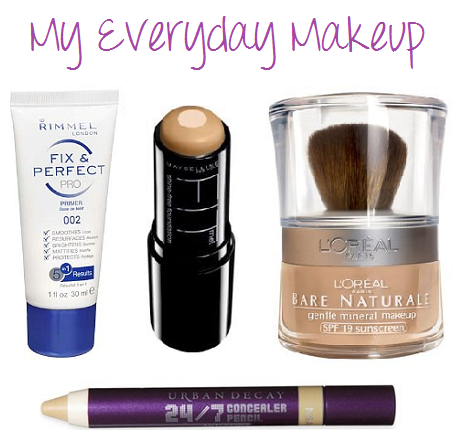My everyday makeup
