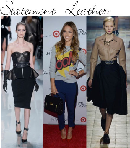 Fall Trends 2013: Statement leather