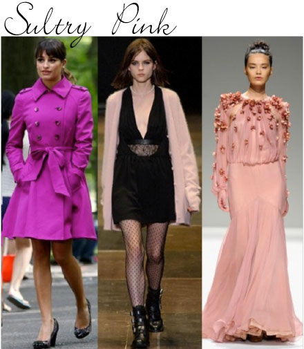 Fall Trend 2013: Sultry Pink