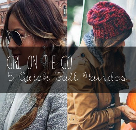 Girl on the Go: 5 Less-Than-5-Minute Hair Styles