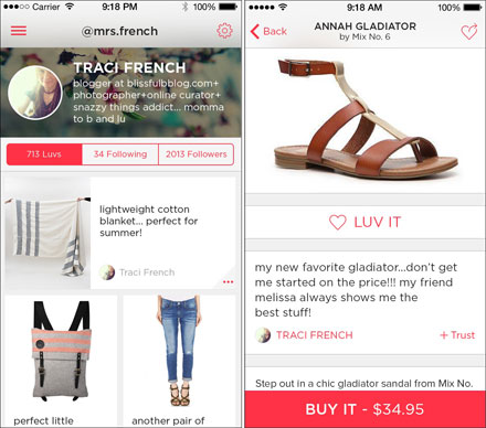 Luvocracy - addicting shopping app!!