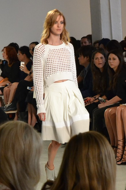 A look from the Rebecca Taylor Spring 2014 runway