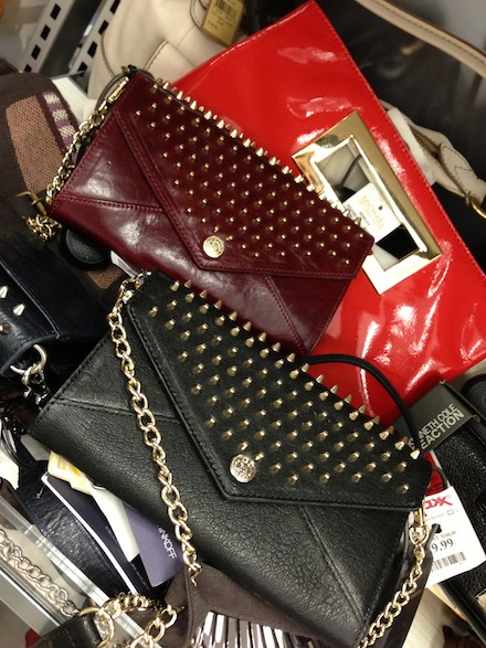 Rebecca Minkoff clutches spotted on clearance at T.J.Maxx