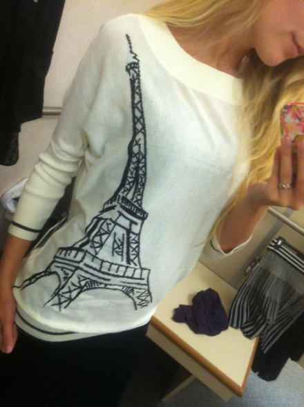 Paris sweater / Catherine Malandrino for Kohl's
