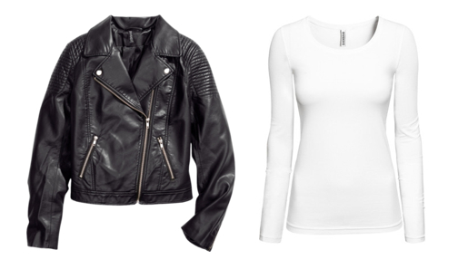 H&M jacket and top