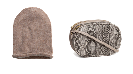 H&M hat and bag