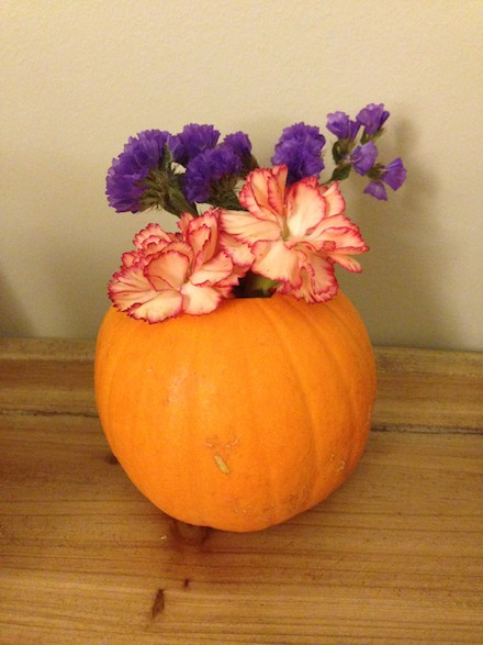 Chic pumpkin decorations for Halloween