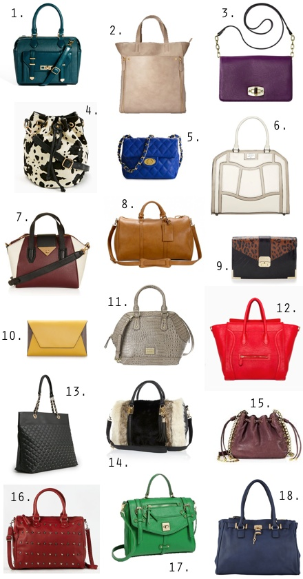 Fall 2013 Handbag Guide: 18 Irresistible Picks Under $100