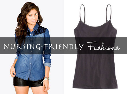 Stylish and affordable clothes for nursing