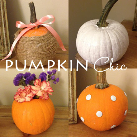 Stylish ways to paint a pumpkin this Halloween