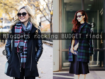 Bloggers rocking BUDGET finds