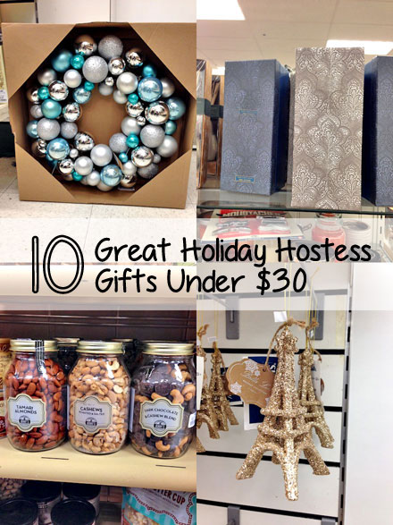 10 holiday hostess gift ideas under $30 - the budget babe