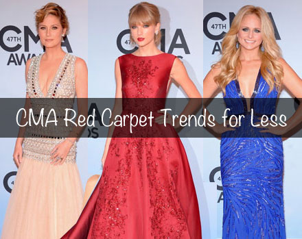 CMA Red Carpet trends for less