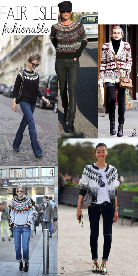 Fair Isle Fashionable: 5 Ways to Style a Fair Isle Sweater
