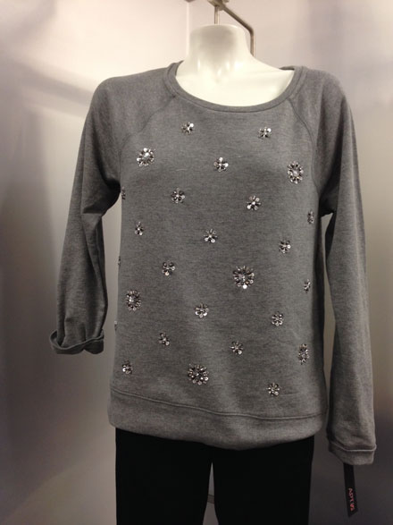 J.Crew embellished sweater look for less