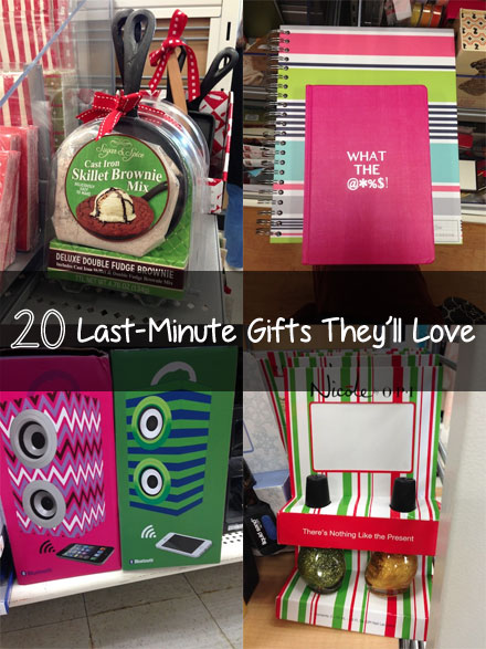 20 Last Minute Gifts They'll Love