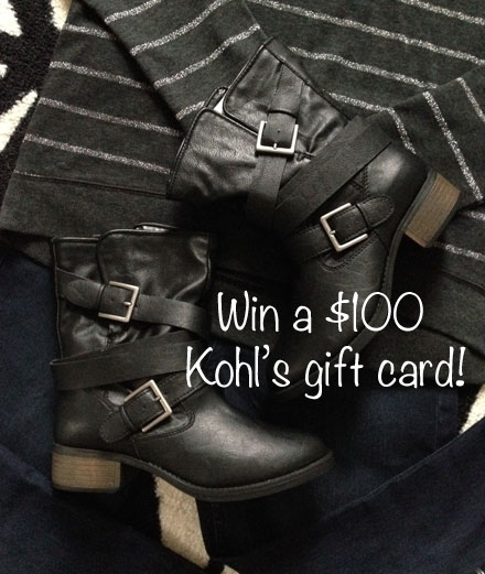 Win a $100 Kohl's Gift Card!