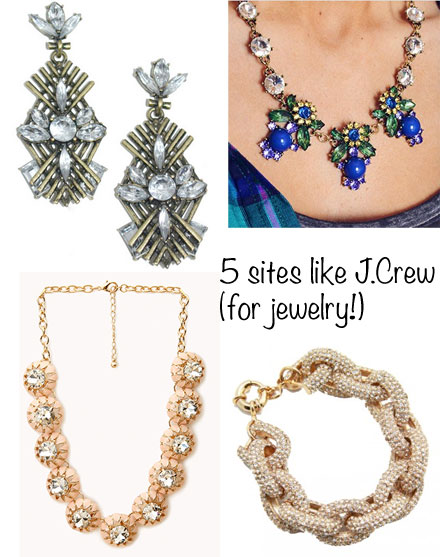 5 Sites Like J.Crew (For Jewelry!)