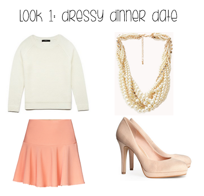 Dressy Dinner Date Outfit Idea