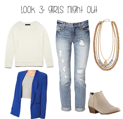 Girl's Night Out Winter Outfit Idea