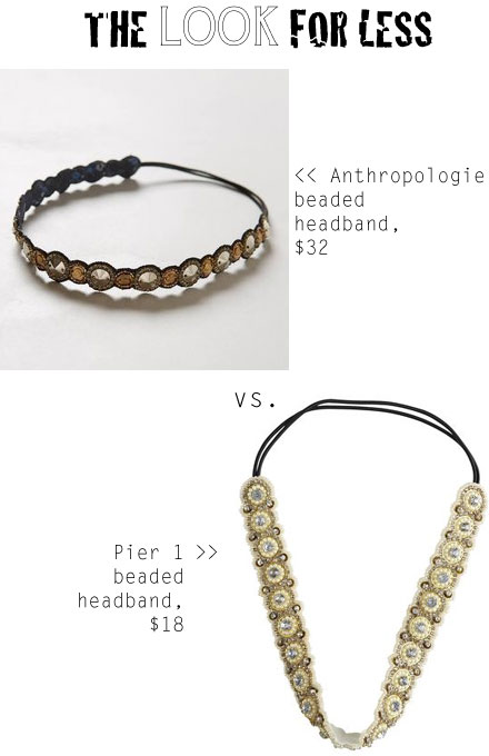 Anthropologie inspired headband look for less