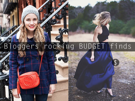 Fashion bloggers rocking budget finds