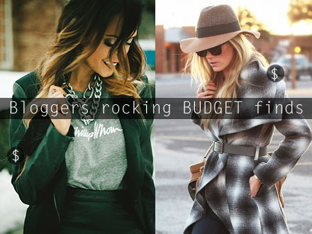 A weekly round-up of top fashion bloggers rocking affordable fashions - under $100!