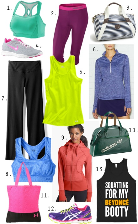 Cute and Cheap Athletic Gear for 2014