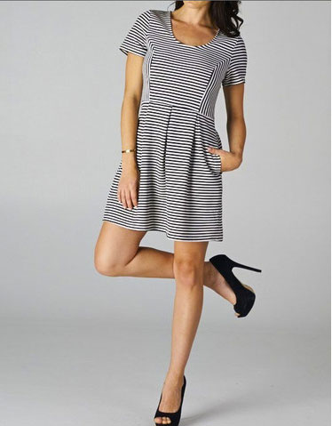 VeryHoney.com striped dress