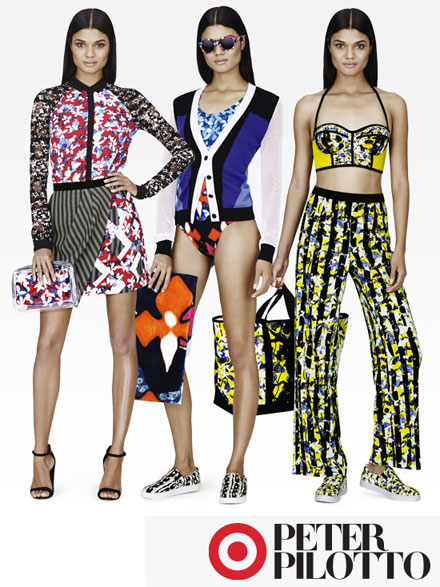 Peter Pilotto for Target Lookbook Images