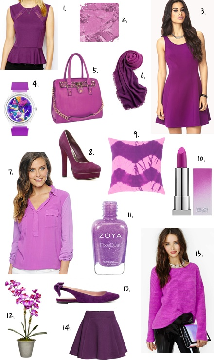 Radiant Orchid Fashion Finds Under $100