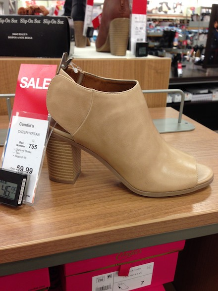 Off the Rack: Shoes at Kohl's