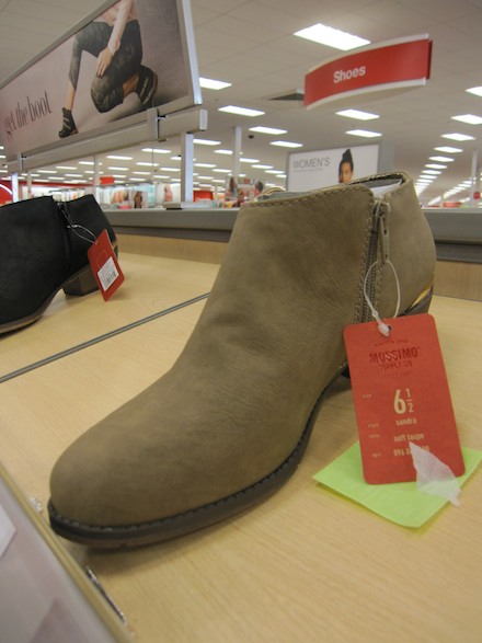 New shoes at Target