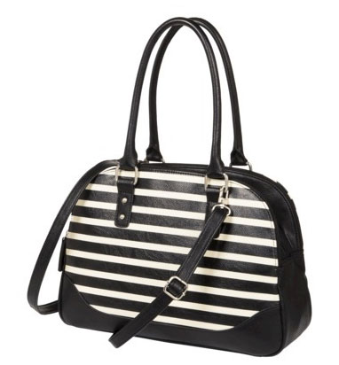 Merona Striped Satchel