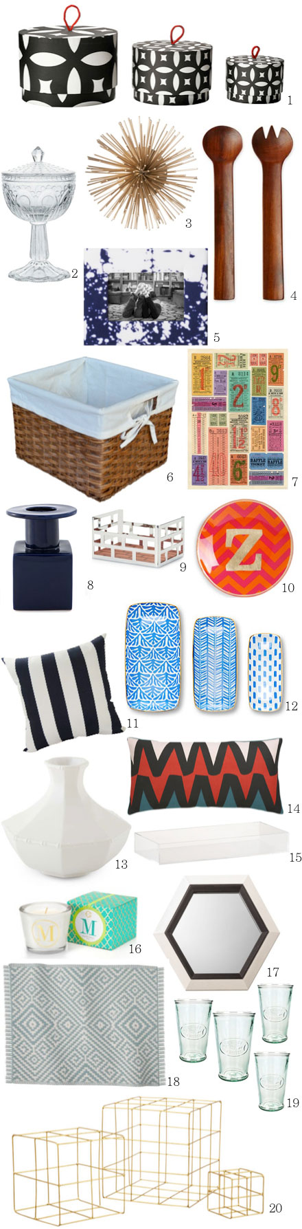 High Style Home Accents Under $20
