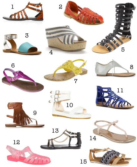 Affordable Spring Sandal Round-Up
