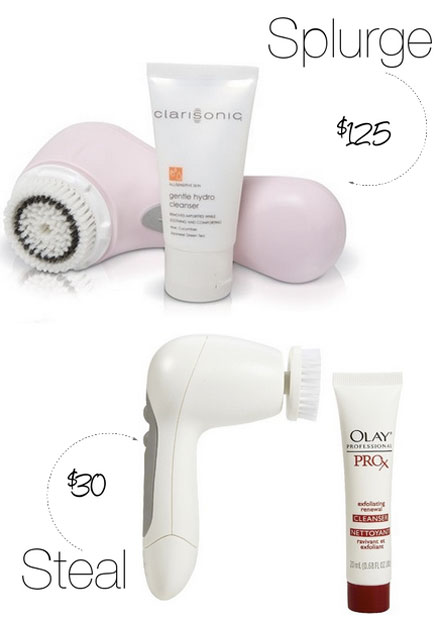 Beauty Splurge vs. Steal: Clarisonic Cleansing Device