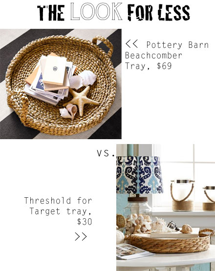 Pottery Barn rope tray look for half the price!
