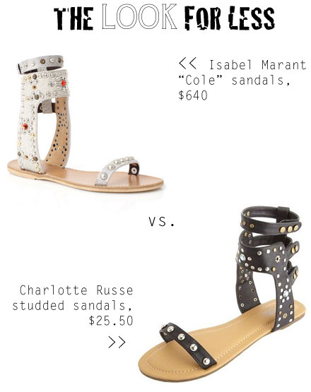 Isabel Marant Cole Sandal Look for Less