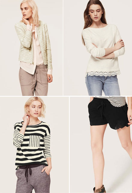 Lou & Grey, a new affordable and stylish line from LOFT
